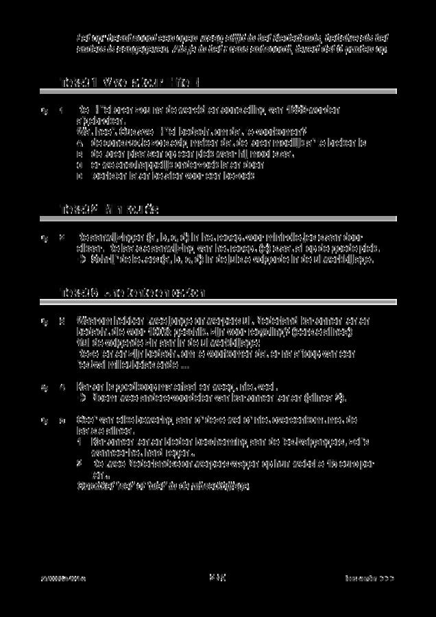 Opgaven examen VMBO GLTL Frans 2019, tijdvak 1. Pagina 2