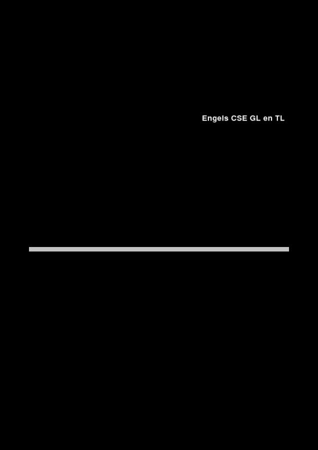Engels eindexamen VMBO GLTL (Correctievoorschrift)   Eindexamens