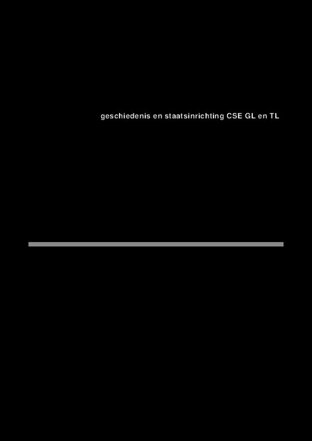 Correctievoorschrift examen VMBO GLTL geschiedenis 2018, tijdvak 1. Pagina 1