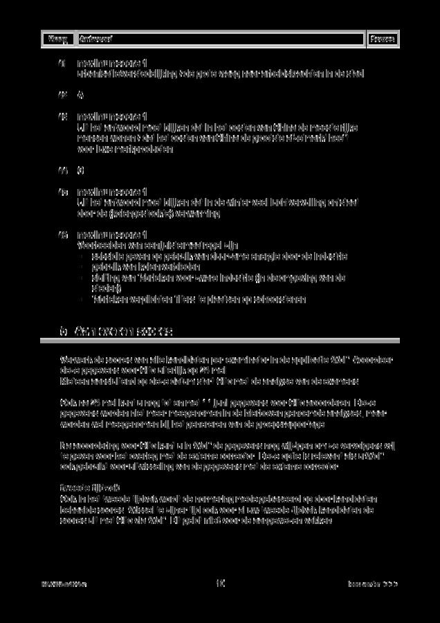 Correctievoorschrift examen VMBO KB aardrijkskunde 2019, tijdvak 1. Pagina 10