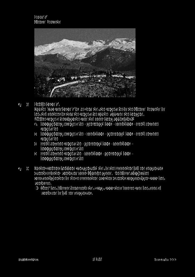 Opgaven examen VMBO KB aardrijkskunde 2019, tijdvak 1. Pagina 8
